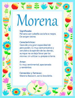 Nombre Morena