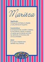 Nombre Maritza