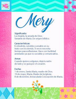 Nombre Mery