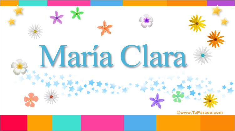 María Clara, imagen de María Clara