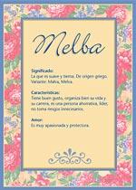 Nombre Melba