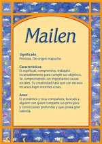 Origen y significado de Mailen