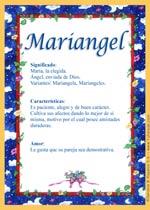 Nombre Mariangel