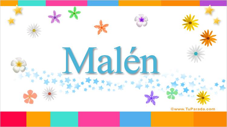 Malén, imagen de Malén