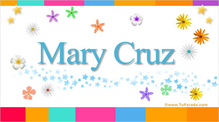 Mary Cruz, imagen de Mary Cruz