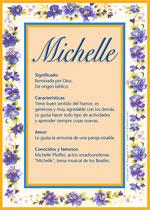 Nombre Michelle