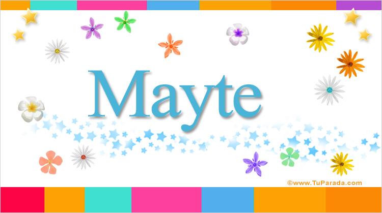 Mayte, imagen de Mayte