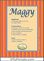 Nombre Maggy