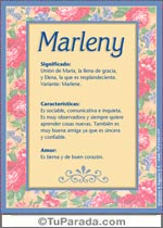Nombre Marleny