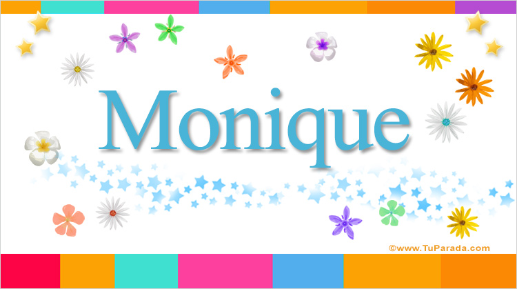 Monique, imagen de Monique