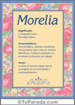Nombre Morelia