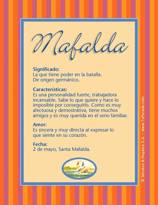 Mafalda, imagen de Mafalda