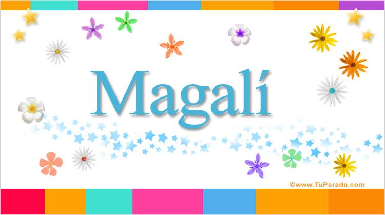 Magalí, imagen de Magalí