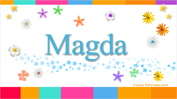 Magda, imagen de Magda