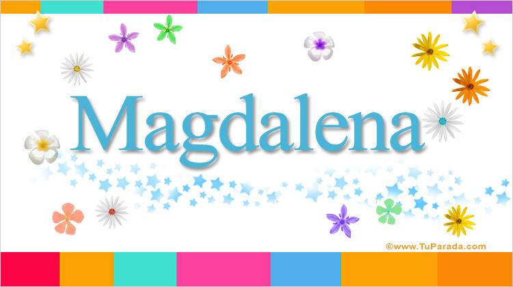 Magdalena, imagen de Magdalena