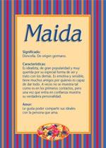 Nombre Maida