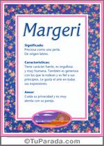 Nombre Margeri