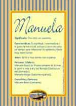 Nombre Manuela