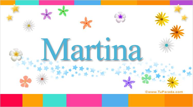 Martina, imagen de Martina