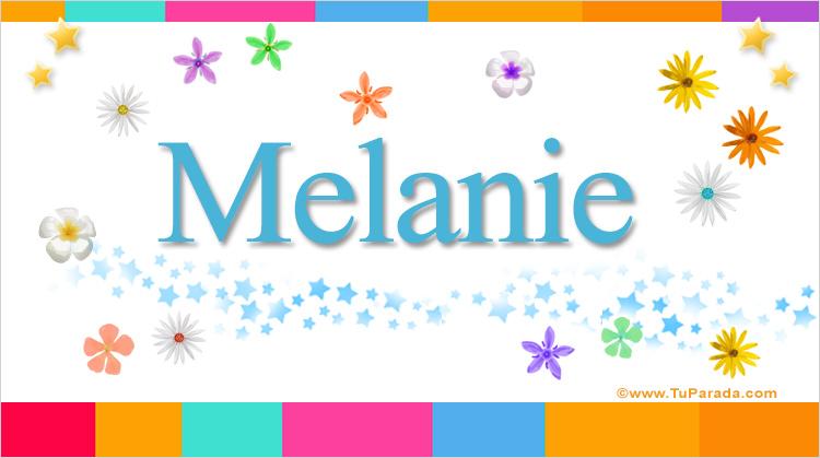 Melanie, imagen de Melanie