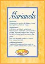 Nombre Marianela