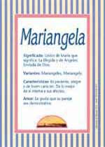 Origen y significado de Mariangela