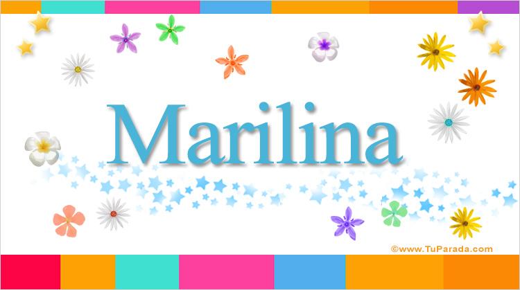 Marilina, imagen de Marilina
