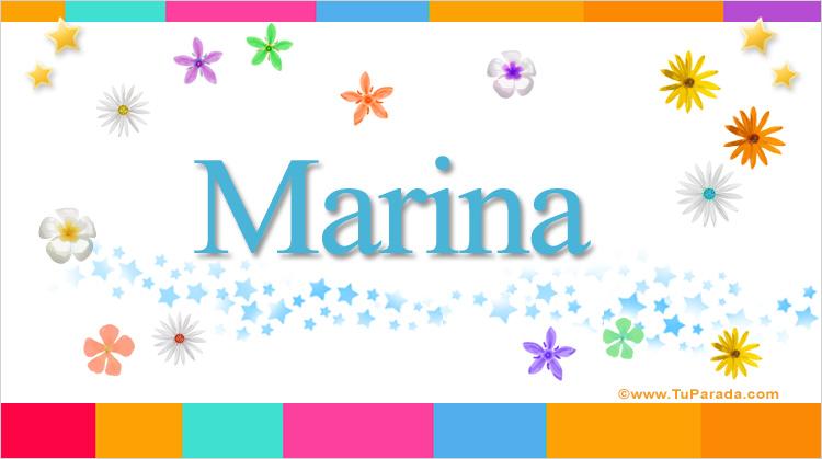 Marina, imagen de Marina