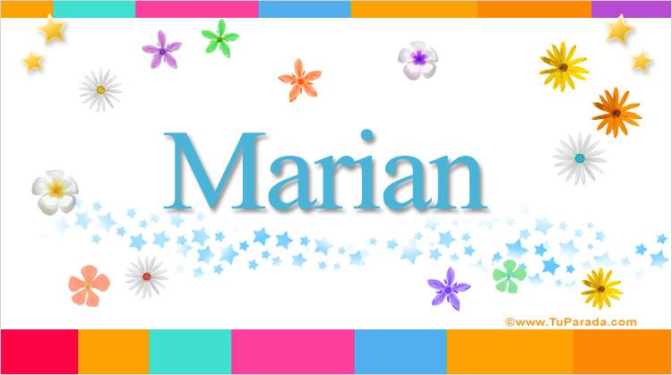 Marian, imagen de Marian