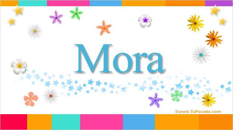 Mora, imagen de Mora