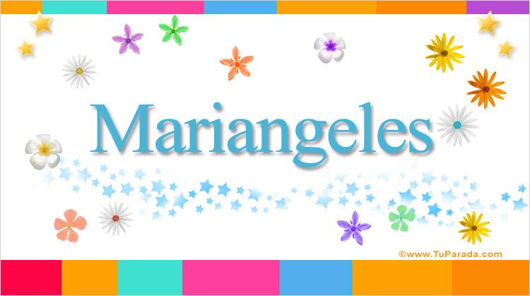 Mariangeles, imagen de Mariangeles