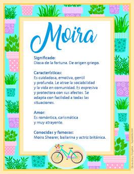 Nombre Moira