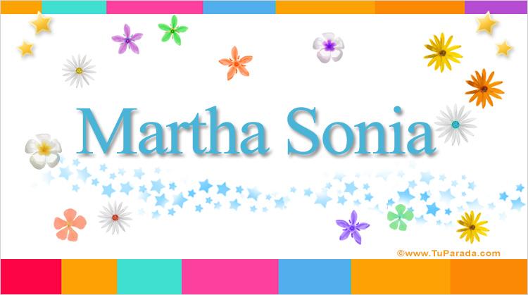 Martha Sonia, imagen de Martha Sonia
