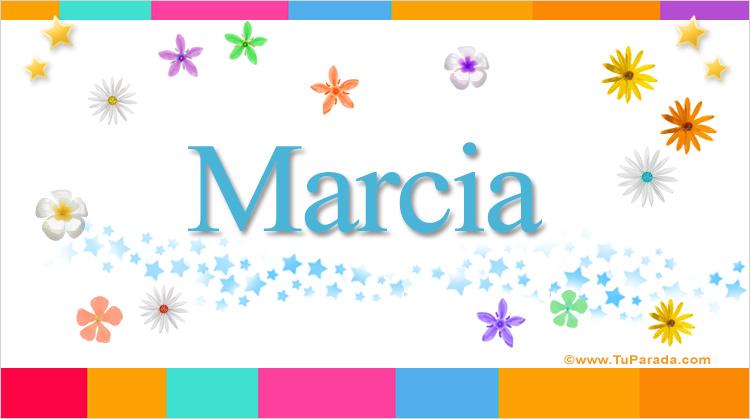 Marcia, imagen de Marcia