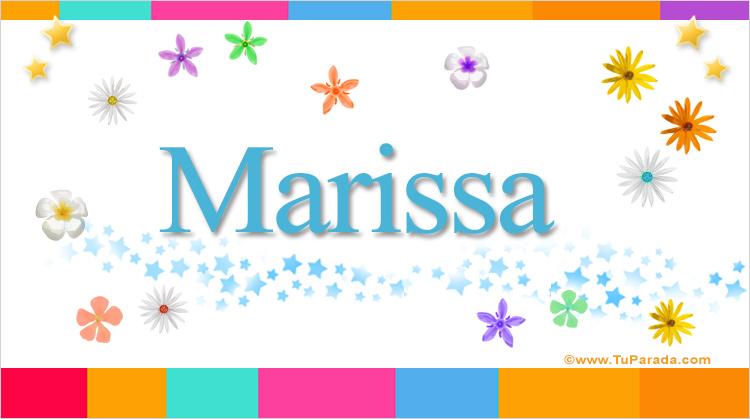 Marissa, imagen de Marissa