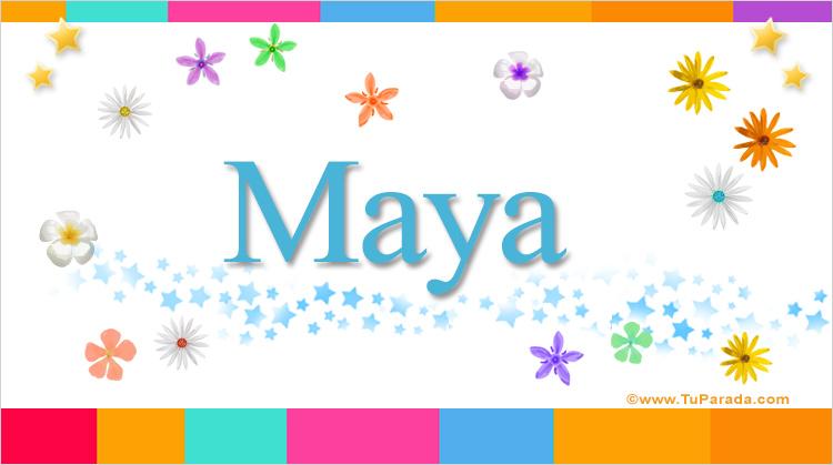 Maya, imagen de Maya