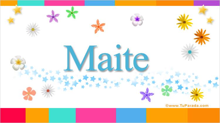 Maite, imagen de Maite