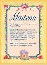Nombre Maitena