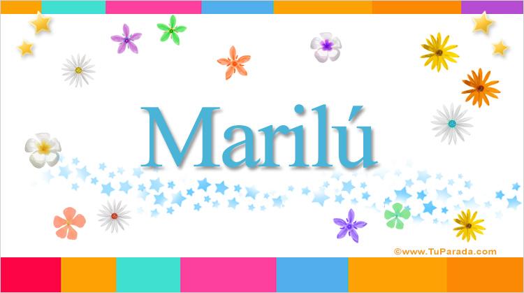 Marilú, imagen de Marilú