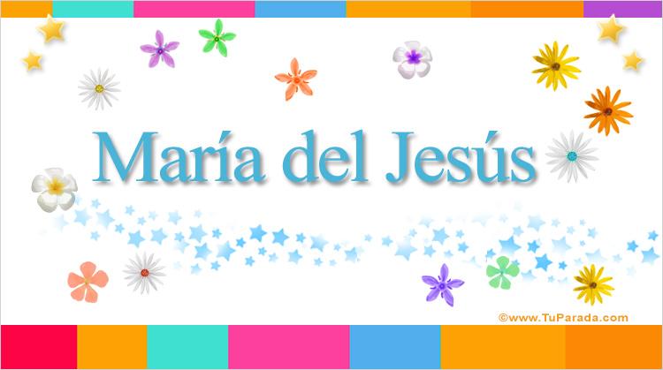 María del Jesús, imagen de María del Jesús