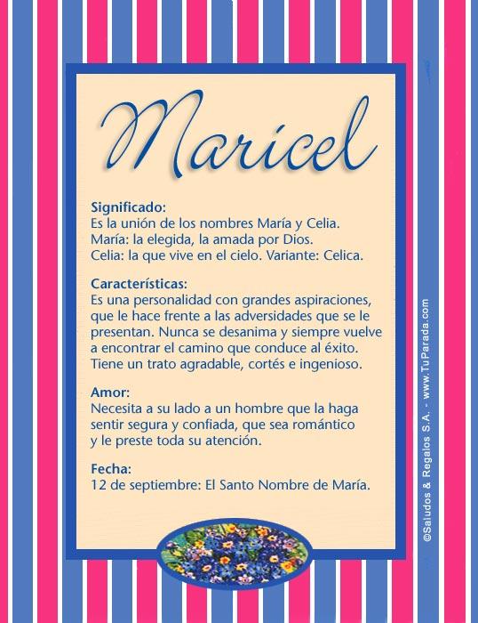 Maricel, imagen de Maricel