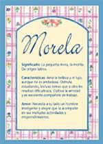 Nombre Morela