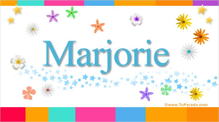 Marjorie, imagen de Marjorie