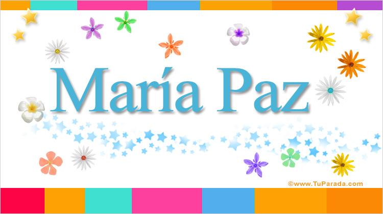 María Paz, imagen de María Paz