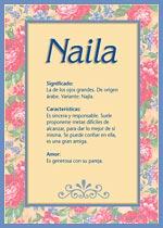 Nombre Naila