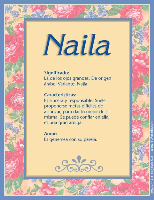 Naila, imagen de Naila