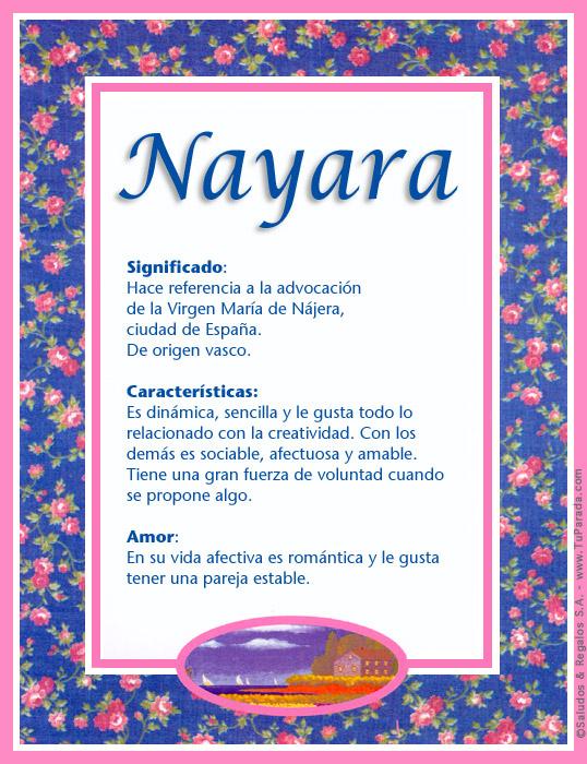 Nayara, imagen de Nayara