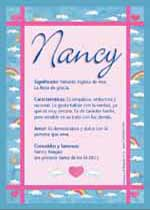 Origen y significado de Nancy