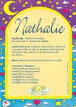 Origen y significado de Nathalie