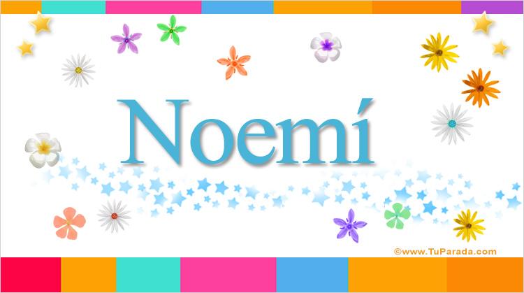 Noemí, imagen de Noemí